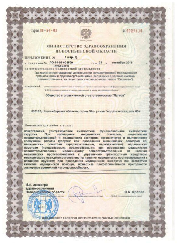 Сертификаты центр реабилитации